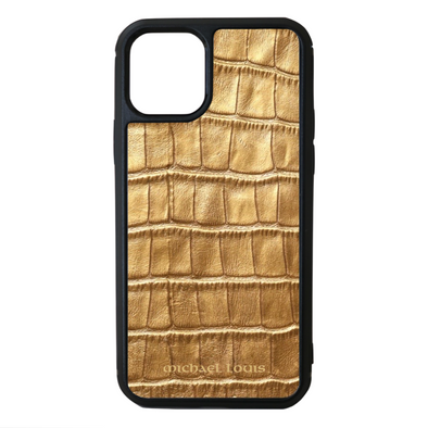 Gold Croc iPhone 11 Pro Case