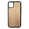 Gold Python iPhone 11 Case