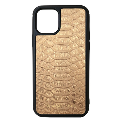 Gold Python iPhone 11 Pro Case