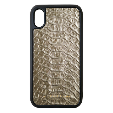 Gold Python iPhone XS Max Case