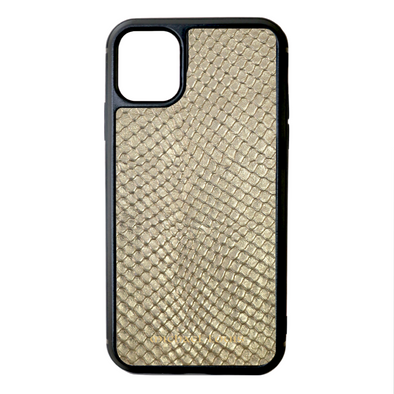Gold Snake iPhone 11 Case