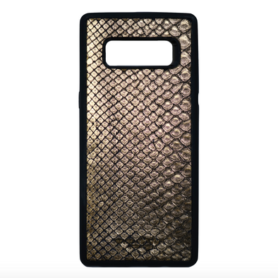 Limited Edition Gold Snakeskin Galaxy Note 8 Case