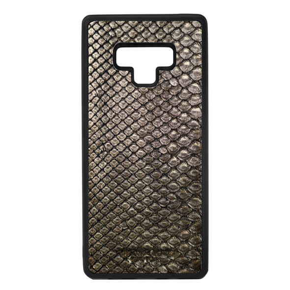 Limited Edition Gold Python Snakeskin Galaxy Note 9 Case