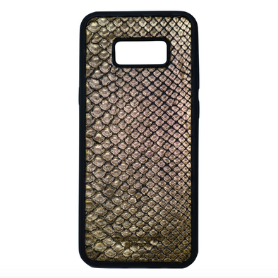 Limited Edition Gold Snakeskin Galaxy S8 Plus Case