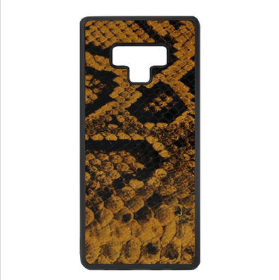 Golden Yellow Snake Galaxy Note 9 Case