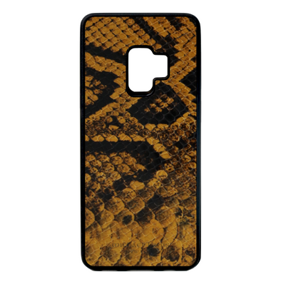 Golden Yellow Snake Galaxy S9 Case