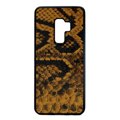 Golden Yellow Snake Galaxy S9 Plus Case