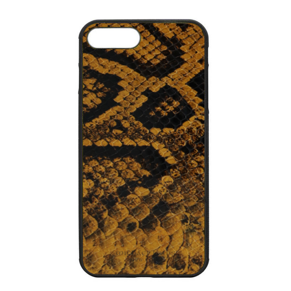 Golden Yellow Snake iPhone 7 Plus / 8 Plus Case