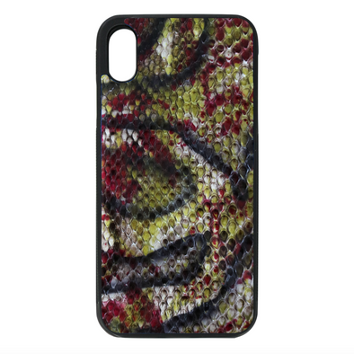 Limited Edition Graffiti Python Snakeskin iPhone XR Case
