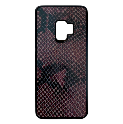 Grape Purple Snake Galaxy S9 Case