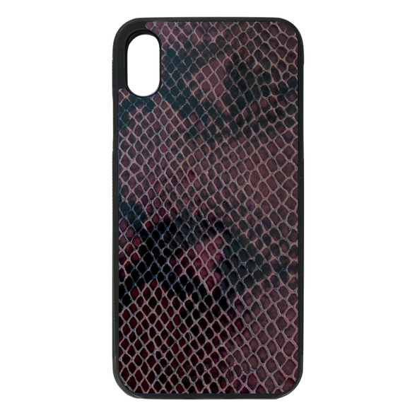 Grape Purple Snake iPhone XR Case
