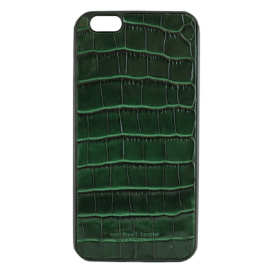 "Green Croc ""1"" iPhone 6/6S Plus Case"