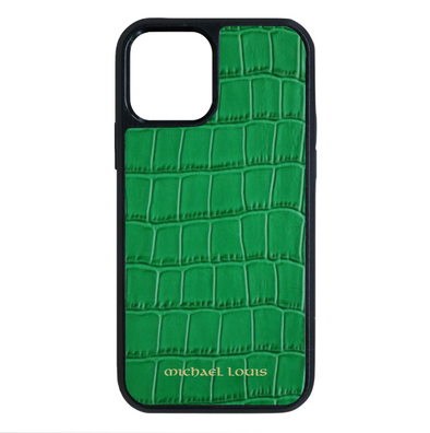 Green Croc iPhone 12 / 12 Pro Case