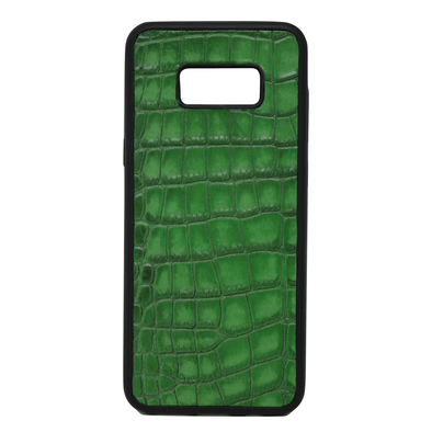 "Green Croc ""3"" Galaxy S8 Plus Case"