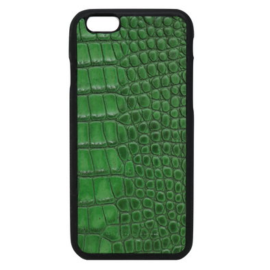 "Green Croc ""3"" iPhone 6/6S Case"