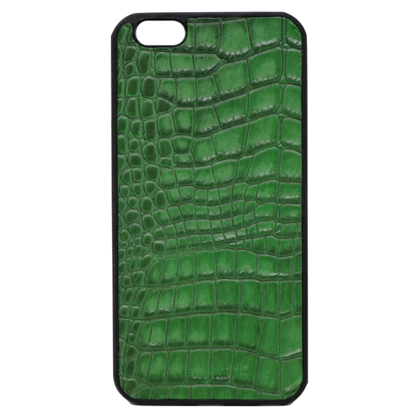 "Green Croc ""3"" iPhone 6/6S Plus Case"