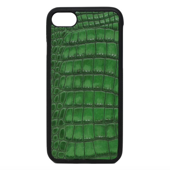 "Green Croc ""3"" iPhone 7 / 8 Case"