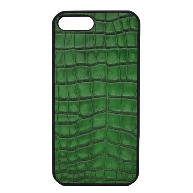 "Green Croc ""3"" iPhone 7 Plus / 8 Plus Case"