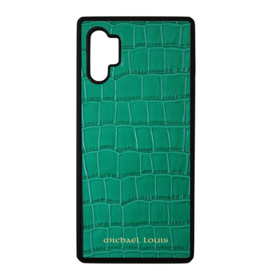 Green Croc Galaxy Note 10 Plus Case