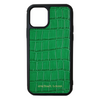 Green Croc iPhone 11 Pro Case