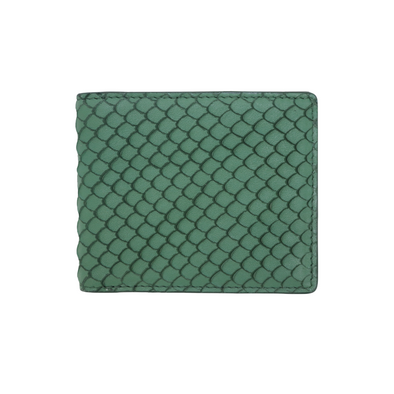 Green Fish Classic Bifold Wallet