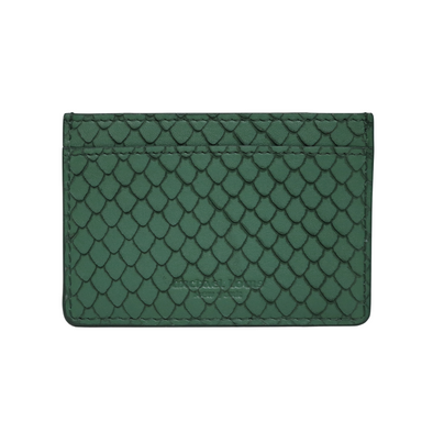 Green Fish Classic Card Holder