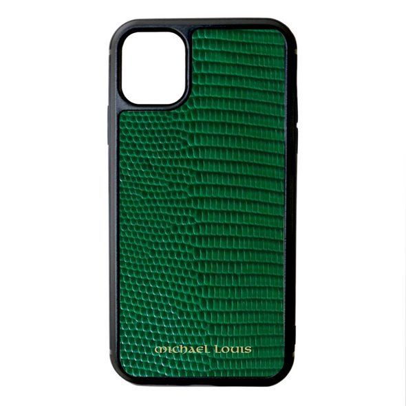 Green Lizard iPhone 11 Case