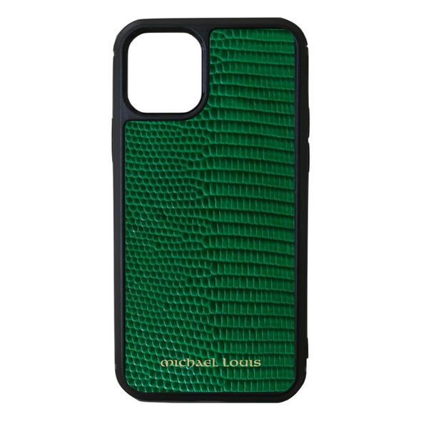 Green Lizard iPhone 11 Pro Case