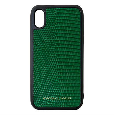 Green Lizard iPhone XS Max Case