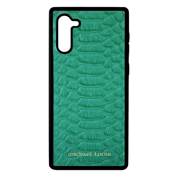 Green Python Galaxy Note 10 Case