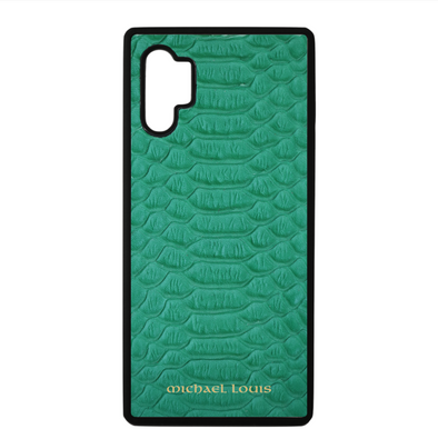 Green Python Galaxy Note 10 Plus Case