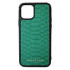 Green Python iPhone 11 Pro Case