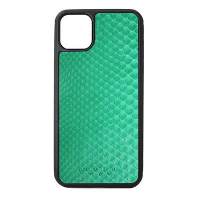 Green Python Snakeskin iPhone 11 Pro Max Case