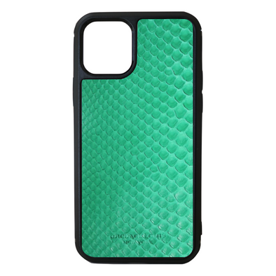 Green Python Snakeskin iPhone 11 Pro Case