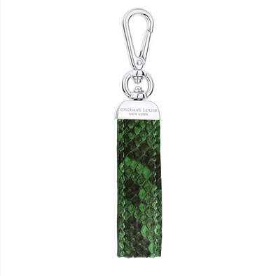 Green Python Swivel Key Holder