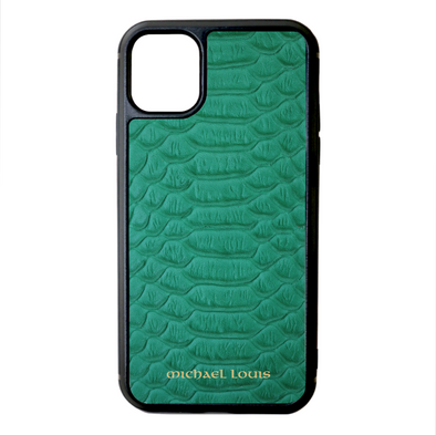 Green Python iPhone 11 Case