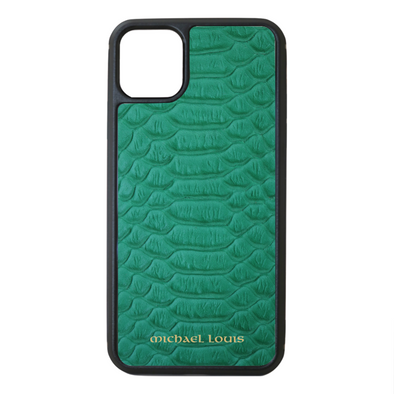 Green Python iPhone 11 Pro Max Case