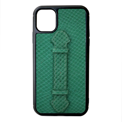 Green Snake iPhone 11 Strap Case
