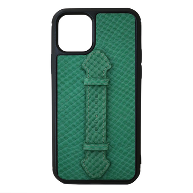 Green Snake iPhone 11 Pro Strap Case