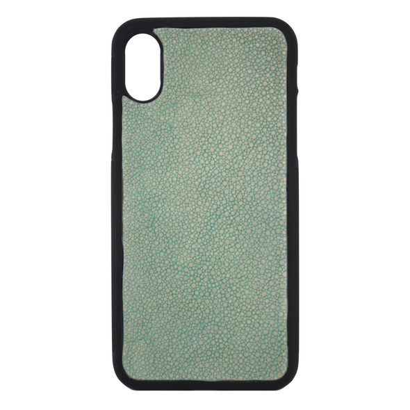 Green Stingray iPhone X Case