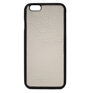 Grey Pebbled Leather iPhone 6/6S Case