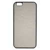 Grey Pebbled Leather iPhone 6/6S Plus Case