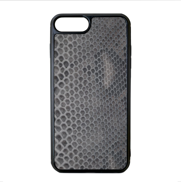 Grey Snakeskin iPhone 7 Plus / 8 Plus Case