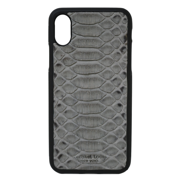 Grey Python iPhone X Case