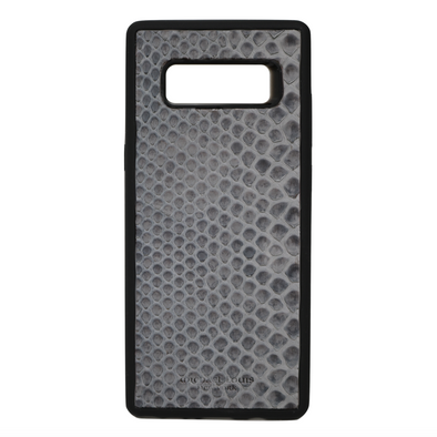Grey Snakeskin Galaxy Note 8 Case