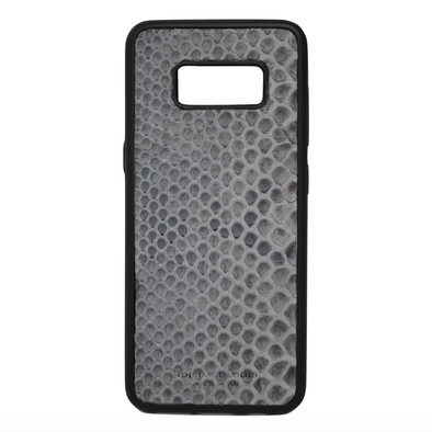 Grey Snakeskin Galaxy S8 Case