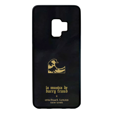 Harry Fraud x Michael Louis Black Lambskin Galaxy S9 Case