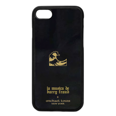 Harry Fraud x Michael Louis Black Lambskin iPhone 7 / 8 Case