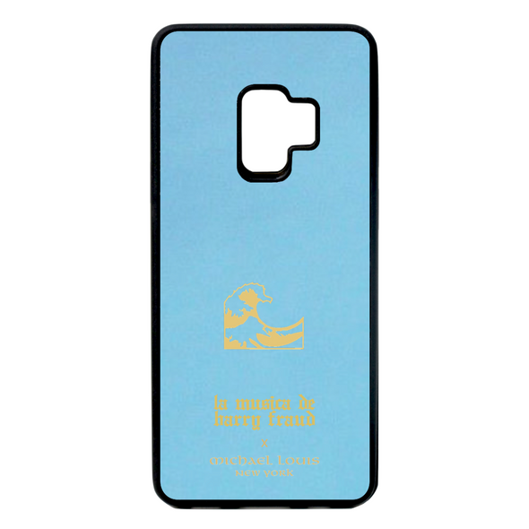 Harry Fraud x Michael Louis Sky Blue Lambskin Galaxy S9 Case