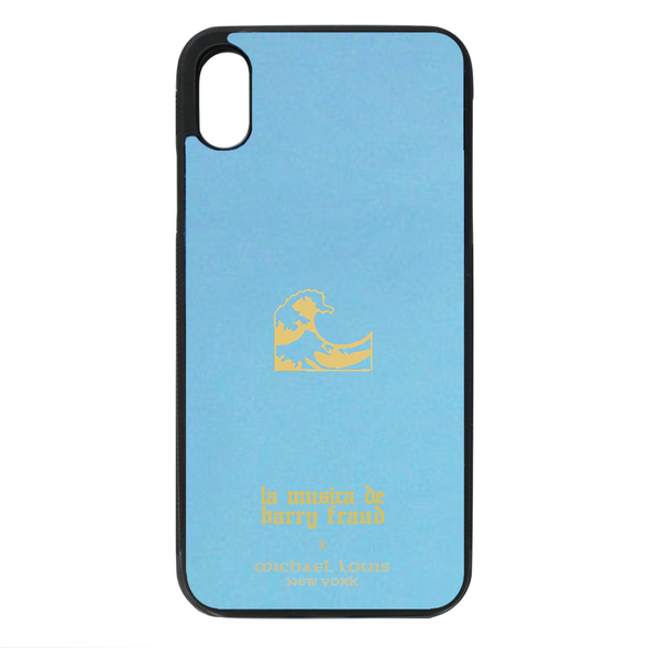 Harry Fraud x Michael Louis Sky Blue Lambskin iPhone XR Case